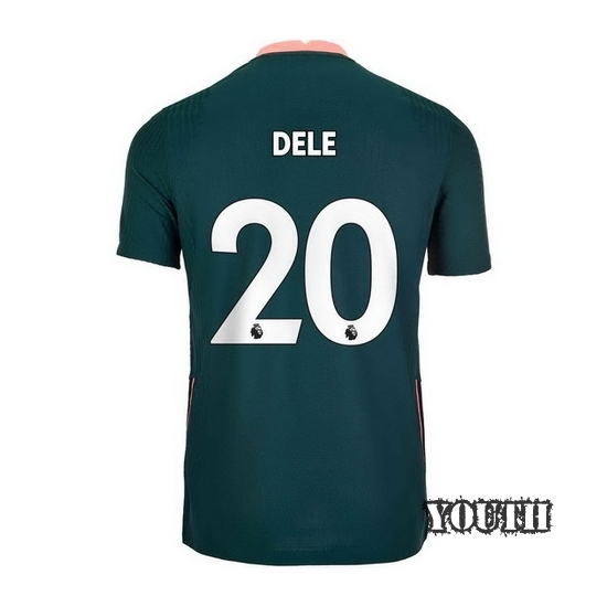2020/21 Dele Alli Tottenham Away Youth Soccer Jersey
