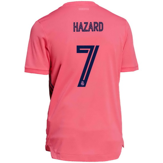 20/21 Eden Hazard Real Madrid Away Men's Soccer Jersey