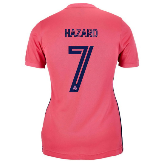 2020/2021 Eden Hazard Real Madrid Away Women's Soccer Jersey