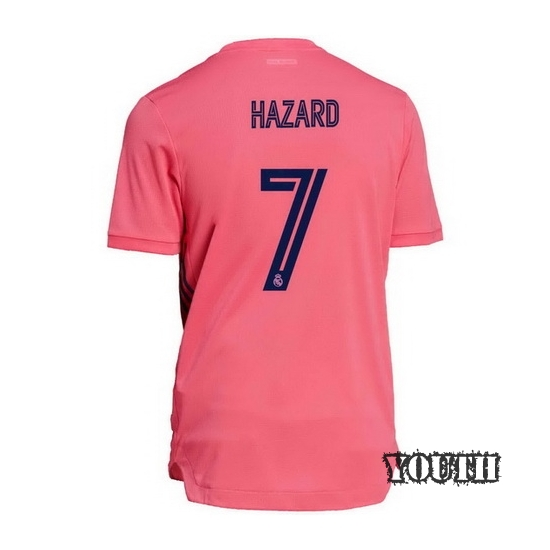 2020/21 Eden Hazard Real Madrid Away Youth Soccer Jersey