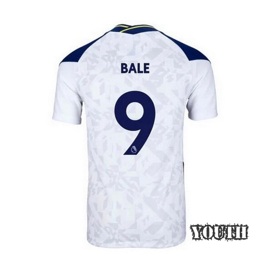 2020/2021 Gareth Bale Tottenham Home Youth Soccer Jersey