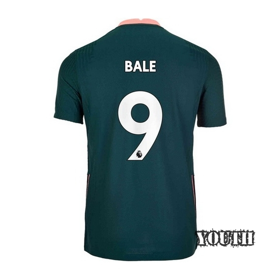 2020/21 Gareth Bale Tottenham Away Youth Soccer Jersey