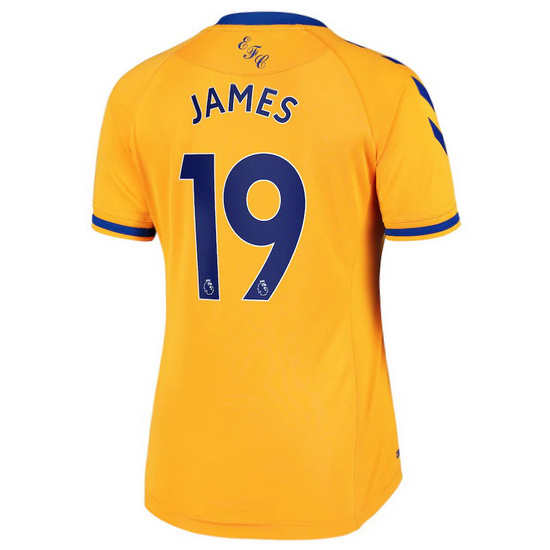 2020/2021 James Rodriguez Everton Away Women's Soccer Jersey