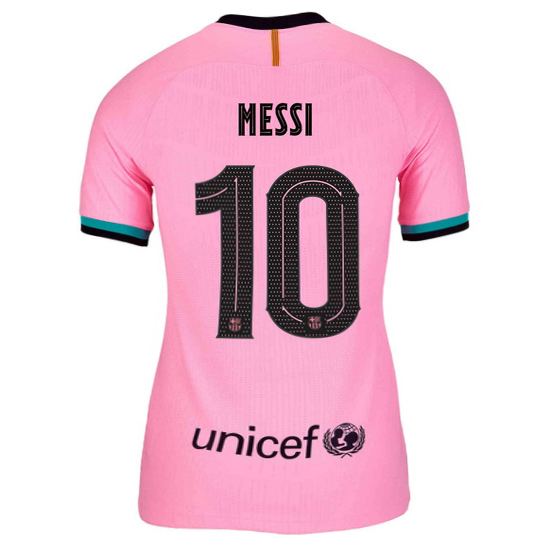 2020/21 Lionel Messi Barcelona Third Women's Soccer Jersey