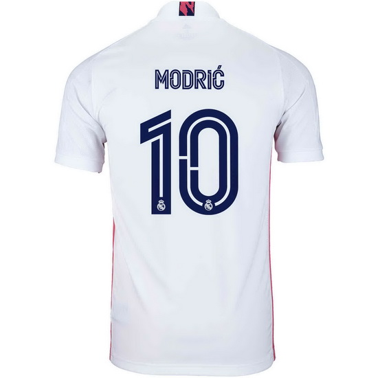 2020/21 Luka Modric Real Madrid Home Men's Soccer Jersey