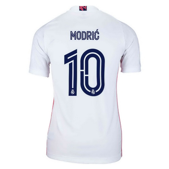 20/21 Luka Modric Real Madrid Home Women's Soccer Jersey