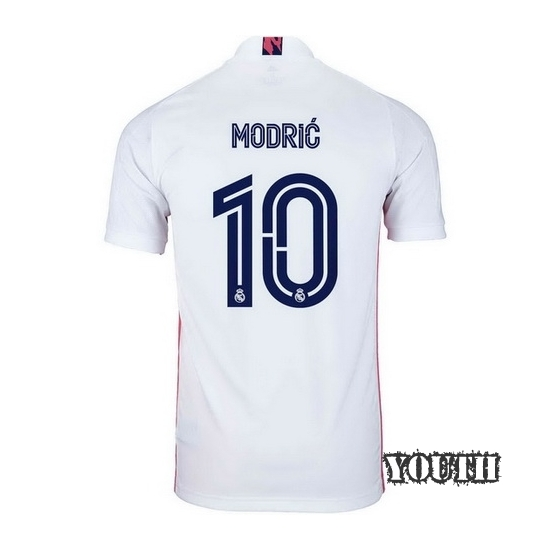 2020/2021 Luka Modric Real Madrid Home Youth Soccer Jersey