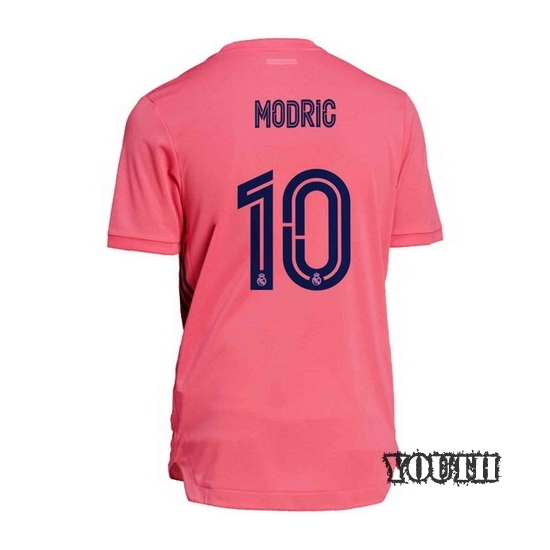 2020/21 Luka Modric Real Madrid Away Youth Soccer Jersey