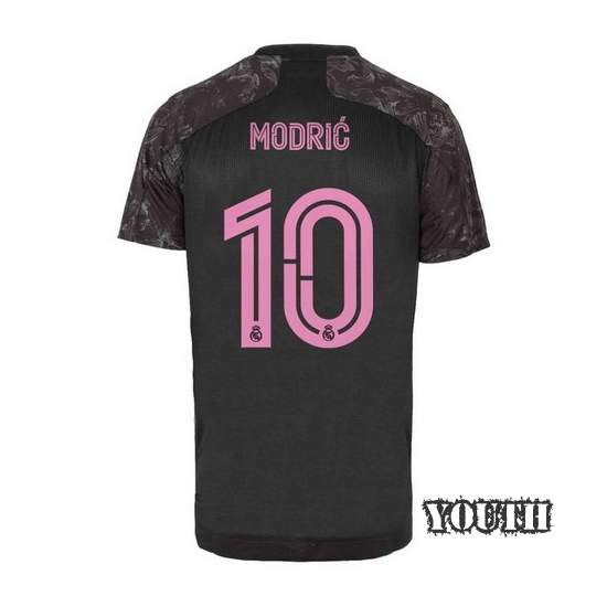 20/21 Luka Modric Real Madrid Third Youth Soccer Jersey