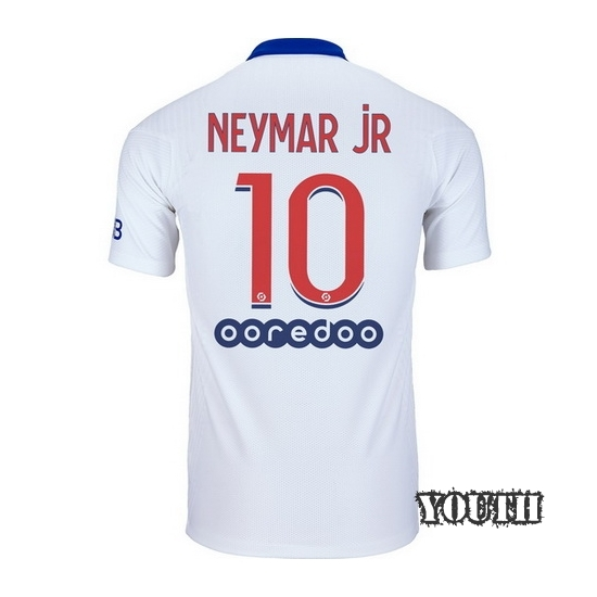 2020/21 Neymar JR PSG Away Youth Soccer Jersey