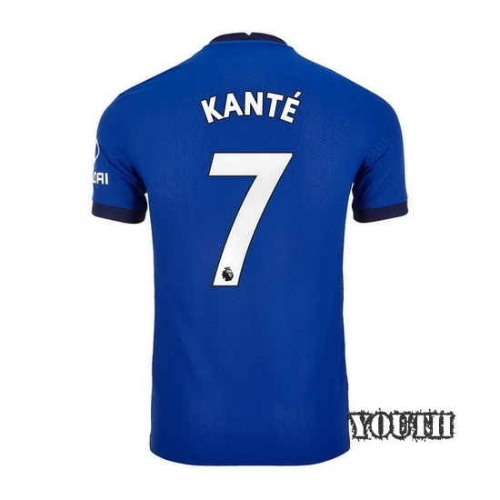 2020/2021 N'Golo Kante Chelsea Home Youth Soccer Jersey