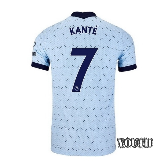 2020/21 N'Golo Kante Chelsea Away Youth Soccer Jersey