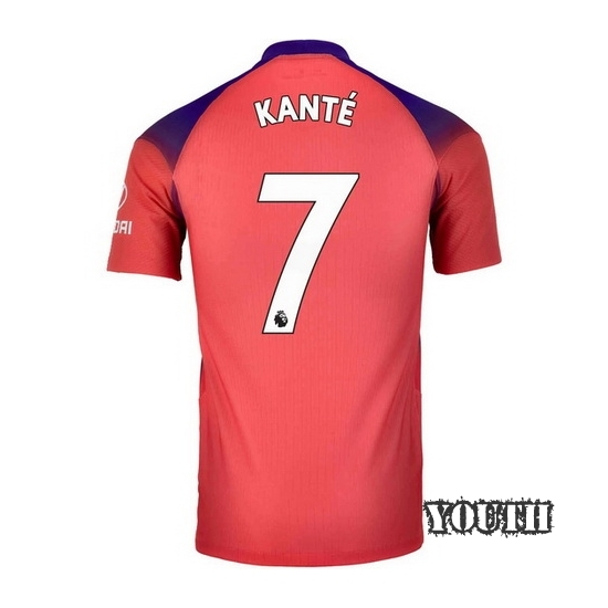 20/21 N'Golo Kante Chelsea Third Youth Soccer Jersey