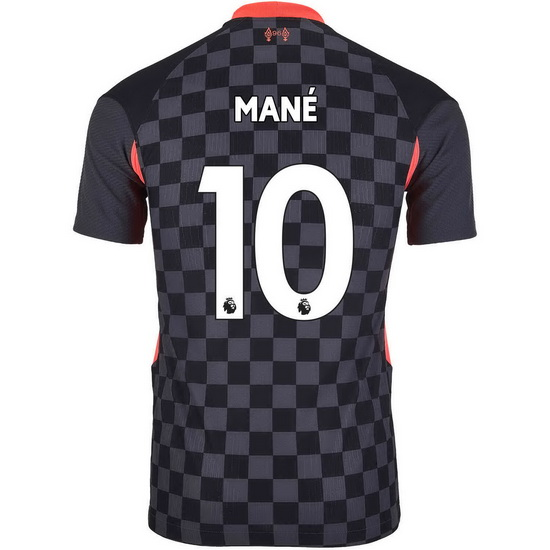 2020/2021 Sadio Mane Liverpool Third Men's Soccer Jersey