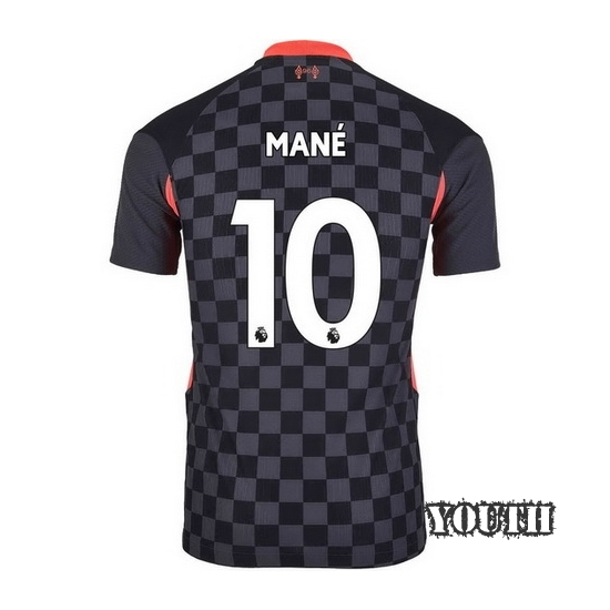 20/21 Sadio Mane Liverpool Third Youth Soccer Jersey