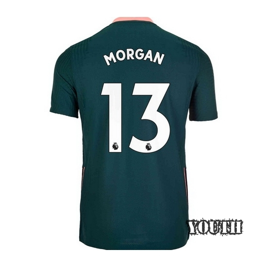 2020/21 Alex Morgan Tottenham Away Youth Soccer Jersey