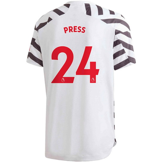 2020/2021 Christen Press Manchester United Third Men's Soccer Jersey