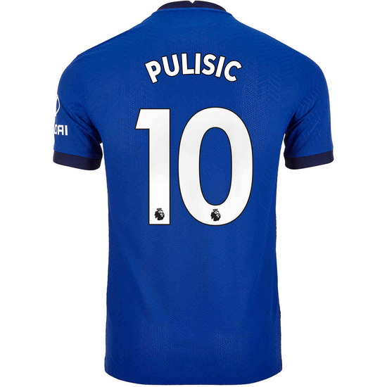 2020/21 Christian Pulisic Chelsea Home Men's Soccer Jersey