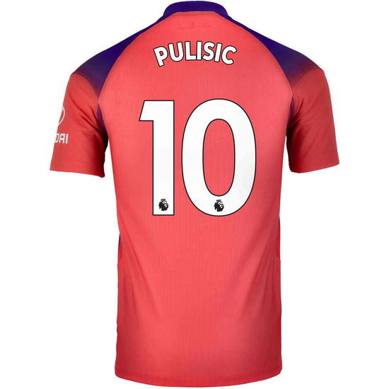 2020/2021 Christian Pulisic Chelsea Third Men's Soccer Jersey