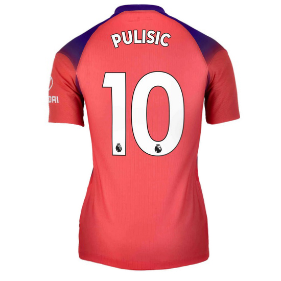 2020/21 Christian Pulisic Chelsea Third Women's Soccer Jersey