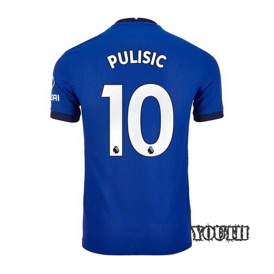2020/2021 Christian Pulisic Chelsea Home Youth Soccer Jersey