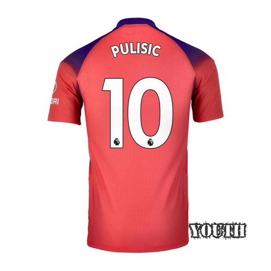 20/21 Christian Pulisic Chelsea Third Youth Soccer Jersey