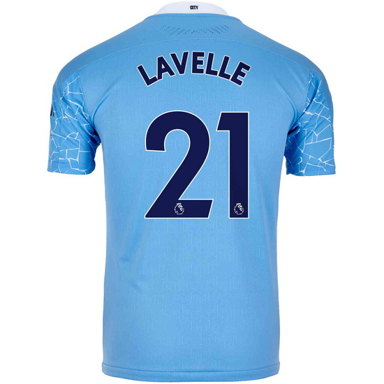2020/21 Rose Lavelle Manchester City Home Men's Soccer Jersey