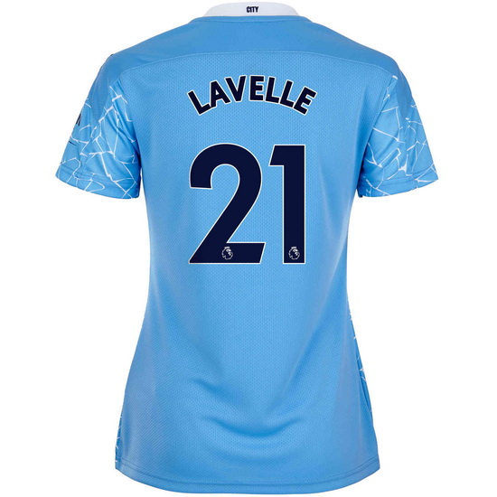 20/21 Rose Lavelle Manchester City Home Women's Soccer Jersey