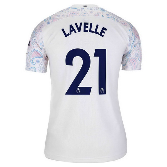 2020/21 Rose Lavelle Manchester City Third Women's Soccer Jersey