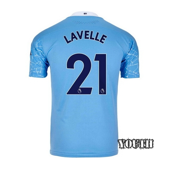2020/2021 Rose Lavelle Manchester City Home Youth Soccer Jersey