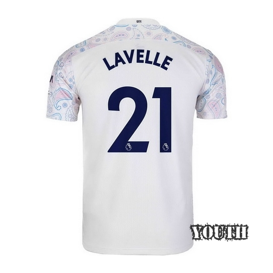 20/21 Rose Lavelle Manchester City Third Youth Soccer Jersey