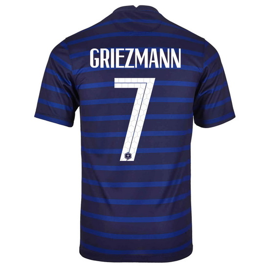 2020 Antoine Griezmann France Home Men's Soccer Jersey