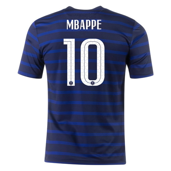 2020 Kylian Mbappe France Home Men's Soccer Jersey