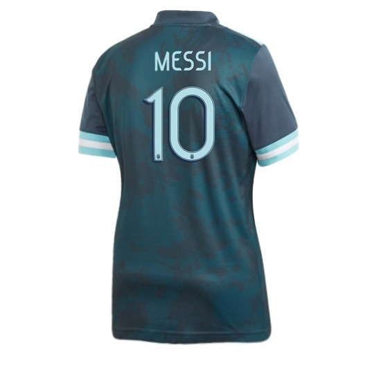 2020 Lionel Messi Argentina Away Women's Soccer Jersey