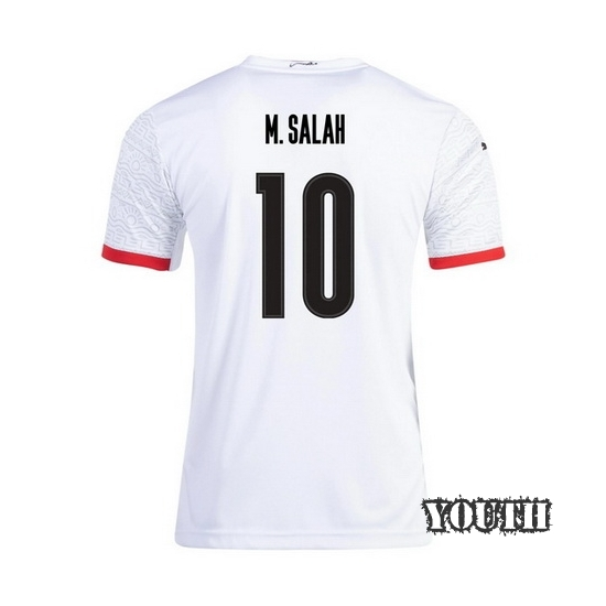 2020 Mohamed Salah EGYPT Away Youth Soccer Jersey
