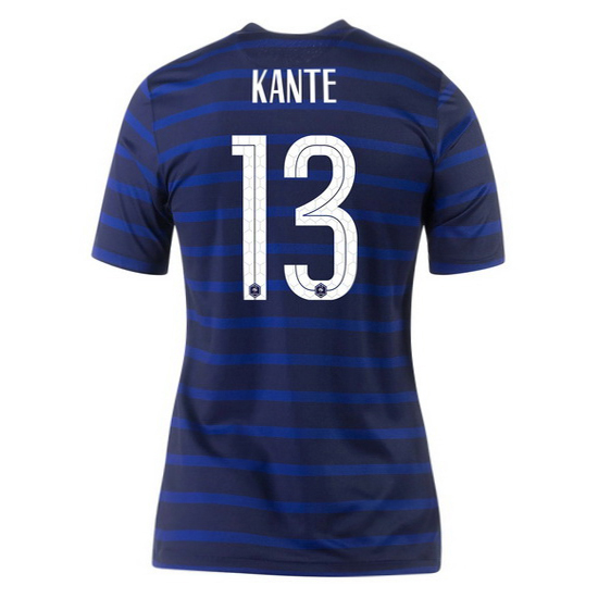 2020 N'Golo Kante France Home Women's Soccer Jersey