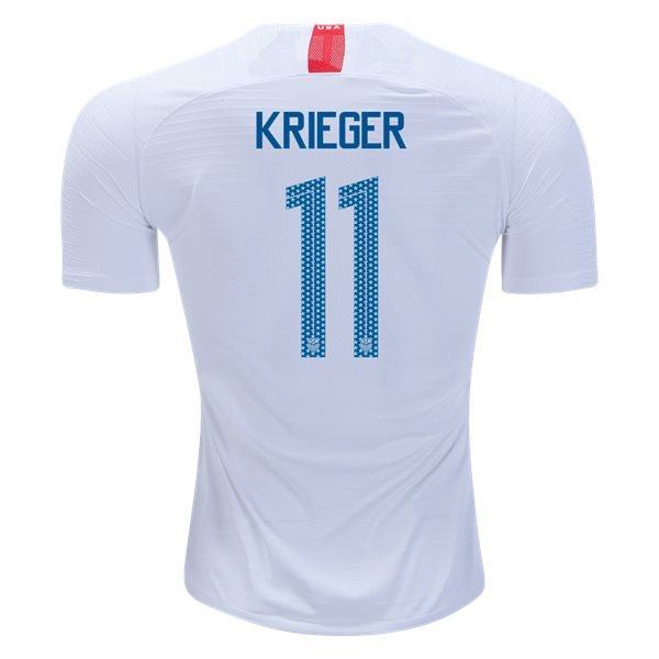 Home Ali Krieger 2018 USA Authentic Men's Stadium Jersey