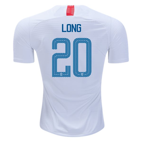 Home Allie Long 18/19 USA Authentic Men's Stadium Jersey