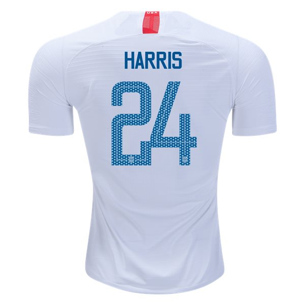 Home Ashlyn Harris 2018/2019 USA Authentic Men's Stadium Jersey