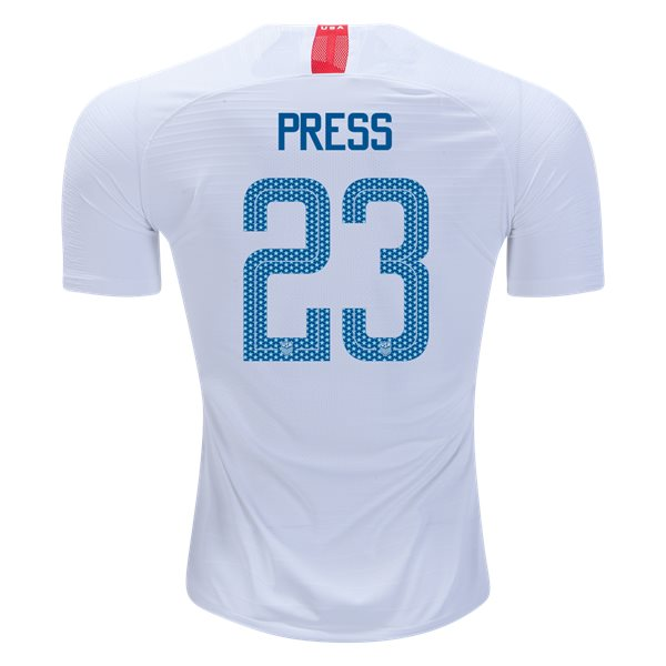 Home Christen Press 2018/2019 USA Authentic Men's Stadium Jersey