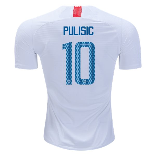 Home Christian Pulisic 2018/19 USA Authentic Men's Stadium Jersey