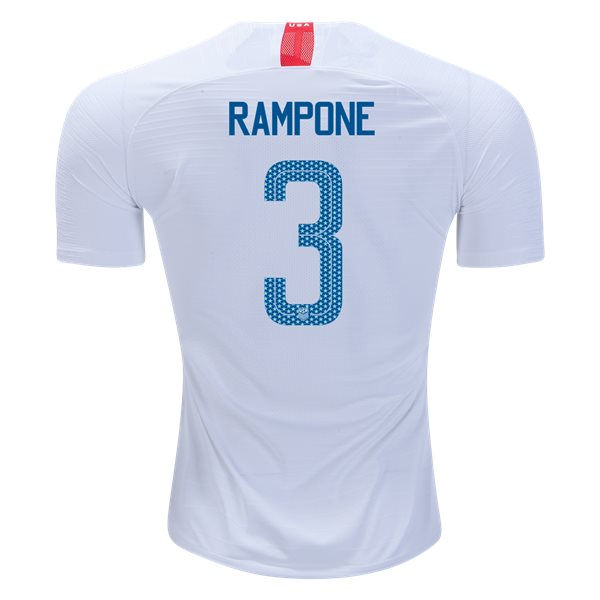 Home Christie Rampone 2018 USA Authentic Men's Stadium Jersey