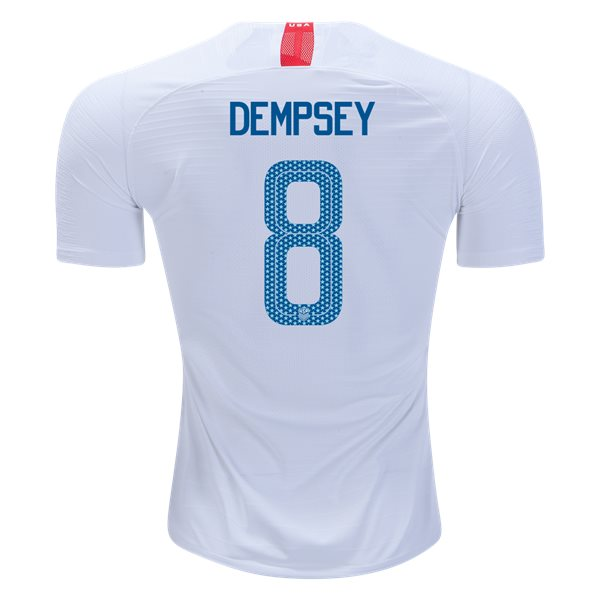 Home Clint Dempsey 18/19 USA Authentic Men's Stadium Jersey
