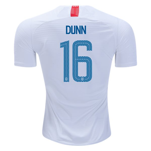 Home Crystal Dunn 2018/2019 USA Authentic Men's Stadium Jersey