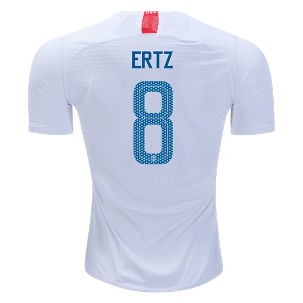 Home Julie Ertz 18/19 USA Authentic Men's Stadium Jersey