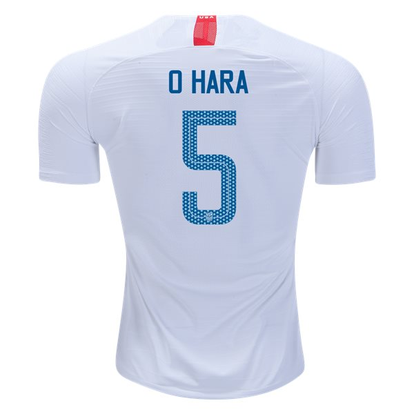 Home Kelley O'Hara 2018/19 USA Authentic Men's Stadium Jersey