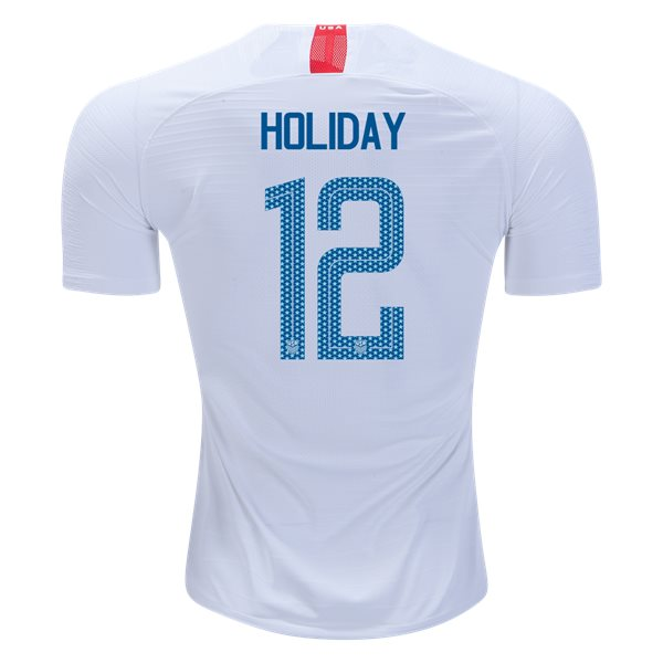 Home Lauren Holiday 2018 USA Authentic Men's Stadium Jersey