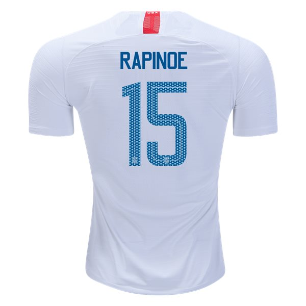 Home Megan Rapinoe 2018/2019 USA Authentic Men's Stadium Jersey