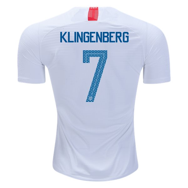 Home Meghan Klingenberg 2018/19 USA Authentic Men's Stadium Jersey
