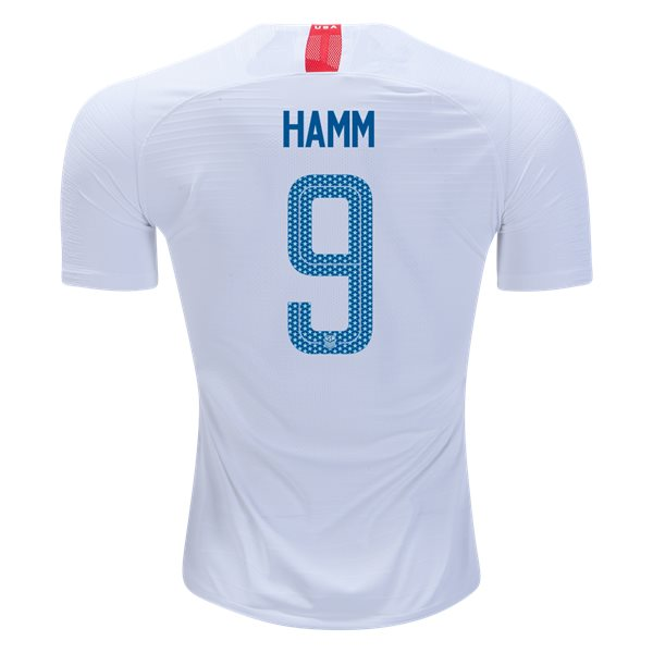 Home Mia Hamm 2018 USA Authentic Men's Stadium Jersey